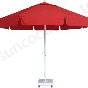Yuvarlak Bahçe Şemsiyesi