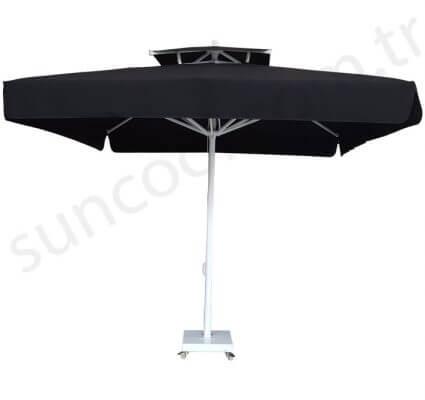 Kare Bacalı Bahçe Şemsiyesi