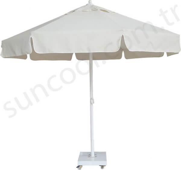 krem-rengi-bahçe-şemsiyesi
