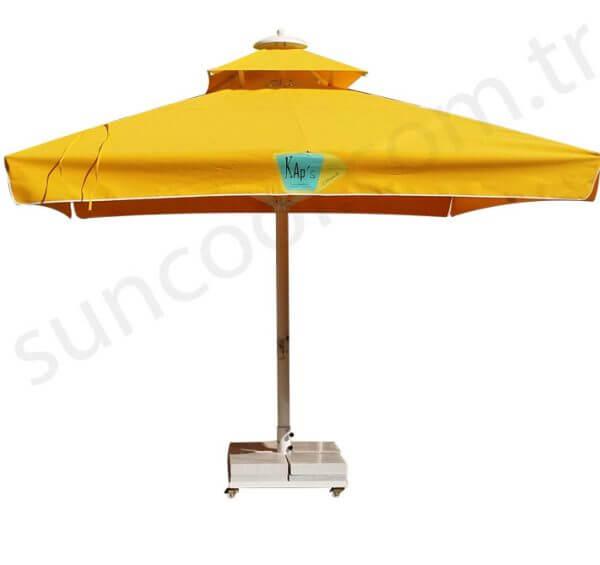 sarı-teleskopik-bahçe-şemsiyesi